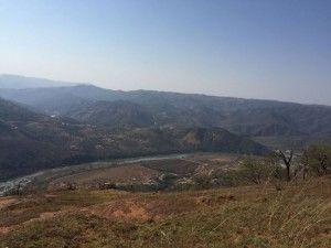 5 150815 Kwa-Ximba View from Top of isihumba towards Umgeni