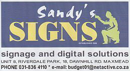 Sandy's Signs