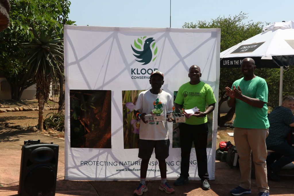 Fana Majozi, men's winner of the 2019 22km Kwa-Ximba Trail Run