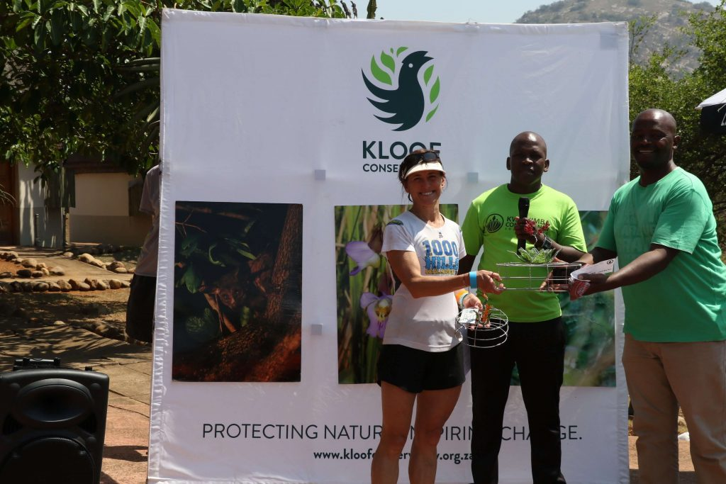 Alison Misselhorn, women's winner of the 2019 22km Kwa-Ximba Trail Run